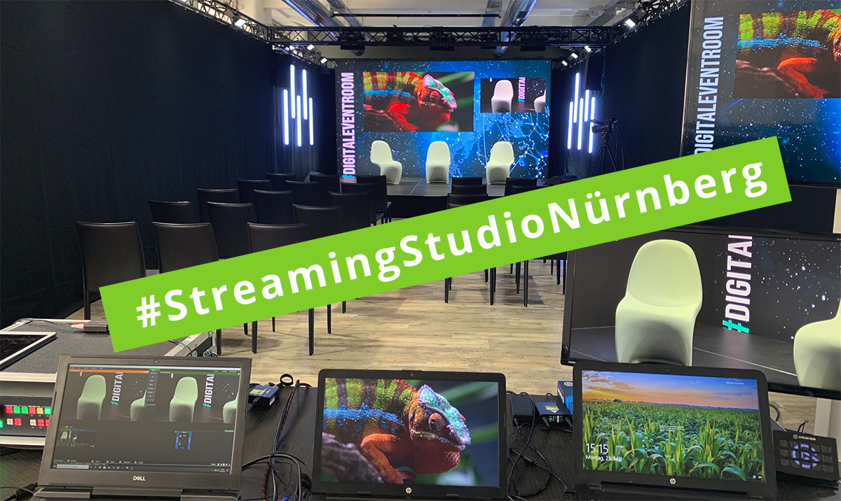 #StreamingStudioNürnberg